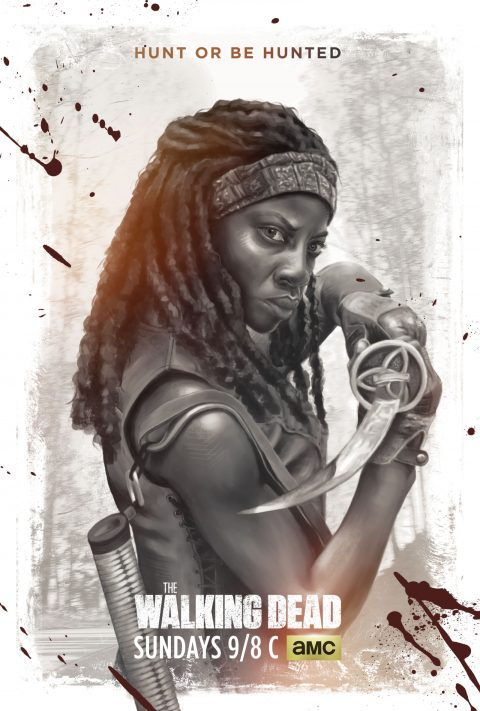 The Walking Dead | Character Poster for Michonne