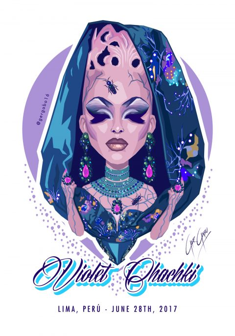 VIOLET CHACHKI – Passing the Crown Realness
