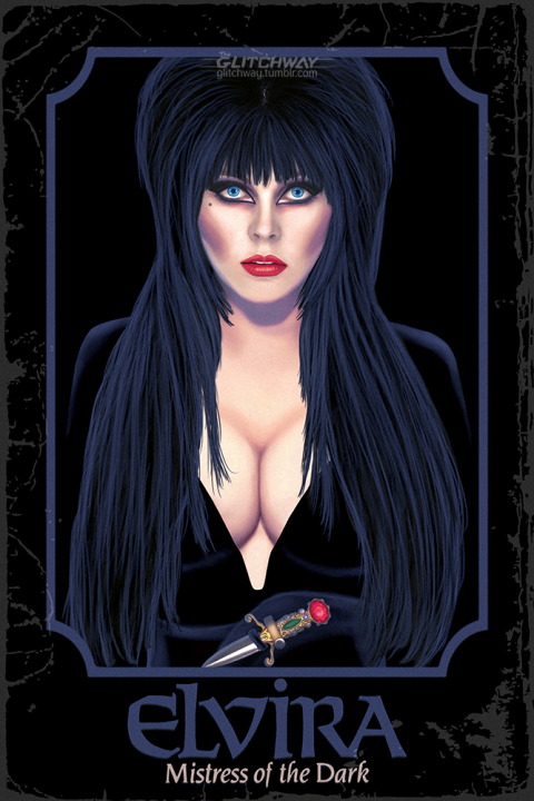 """Elvira: Mistress of the Dark"" Alternative Poster"