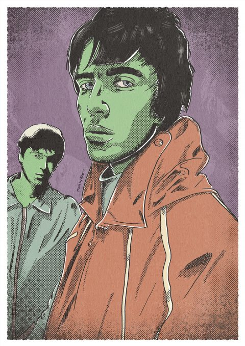 S•E•V•E•N: Liam and Noel Gallagher as Envy