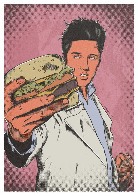 S•E•V•E•N: Gluttony as Elvis