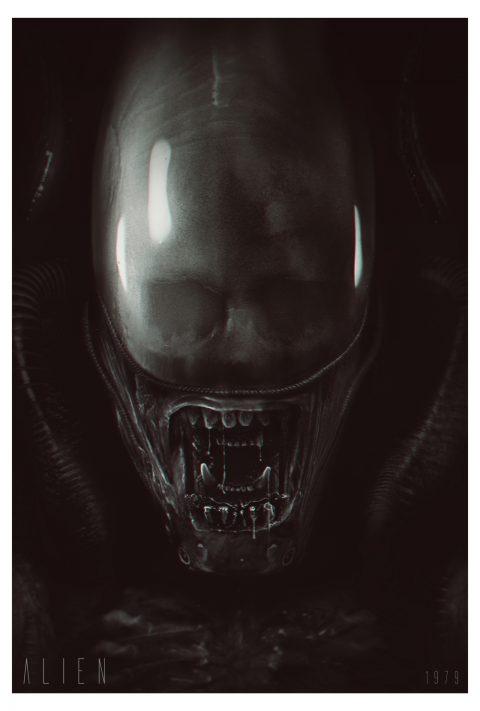 Alien Poster v.4