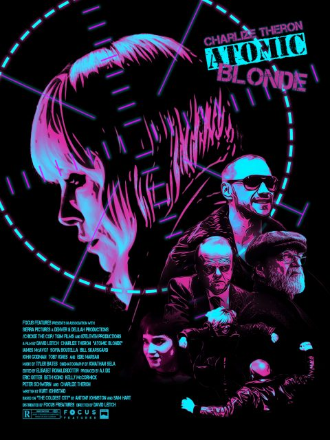 Atomic Blonde Alternative Movie Poster