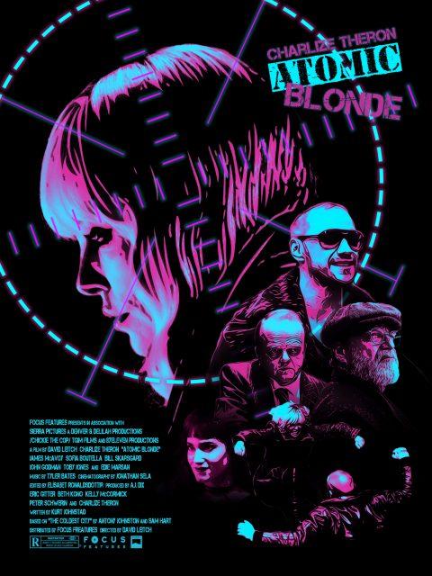 Atomic Blonde Alternative Movie Poster