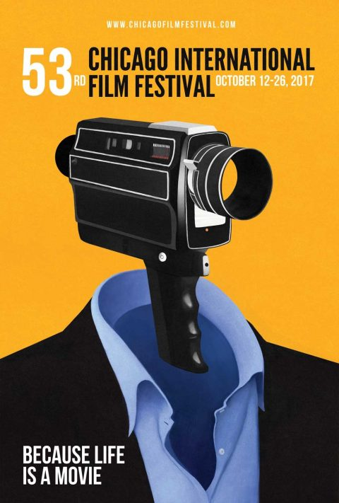 Chicago International Film Festival Poster (Unused)