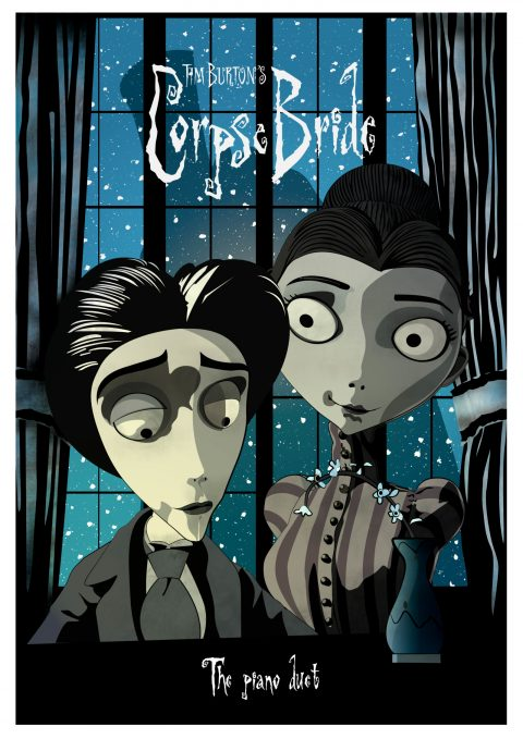 Tim Burton's Corpse Bride – The piano duet.
