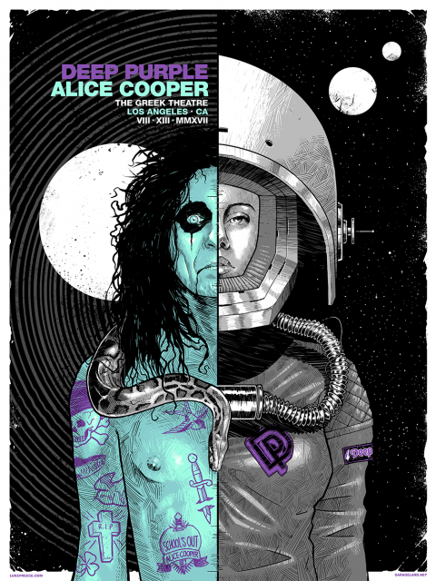 ALICE COOPER / DEEP PURPLE