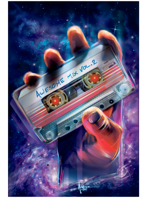 AWESOME MIX VOL2- Guardians of the Galaxy