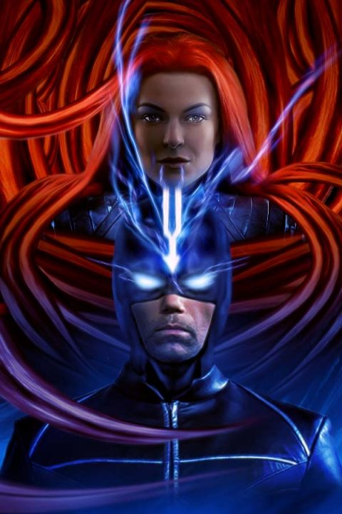 INHUMANS – Medusa and Black Bolt