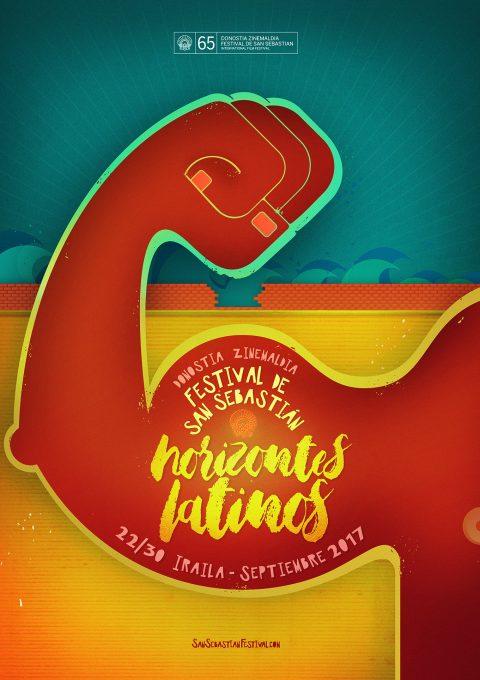 Cartel para Horizontes Latinos (San Sebastián, 2017).