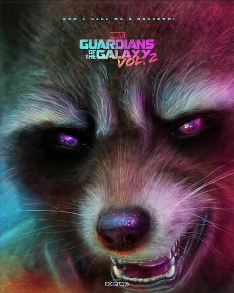 Rocket – Guardians of the Galaxy