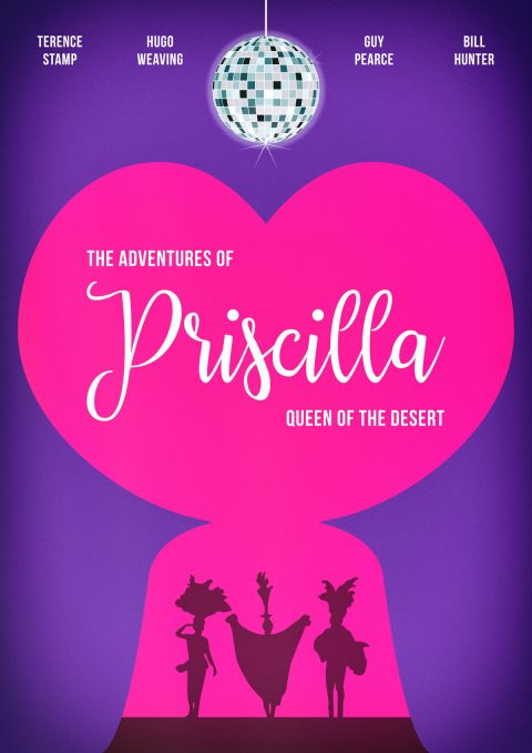 Priscilla Queen Of The Desert – Classic 90's Alternative Movie Poster Design