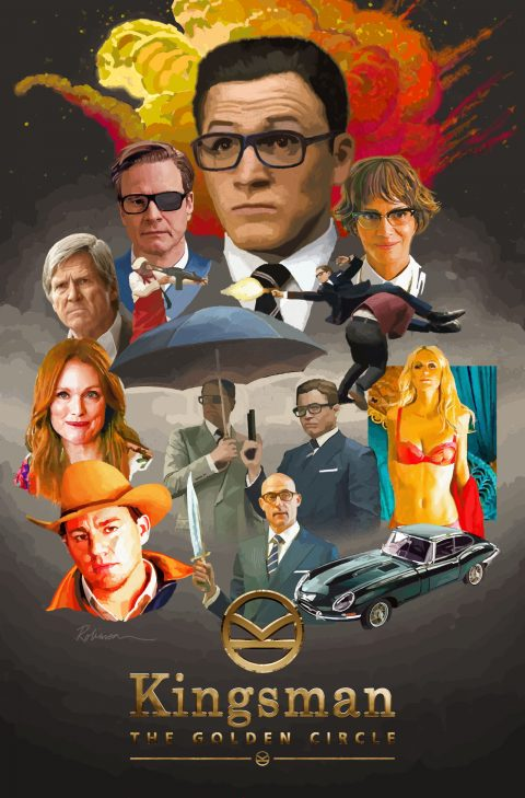 Kingsman: The Circle of Gold