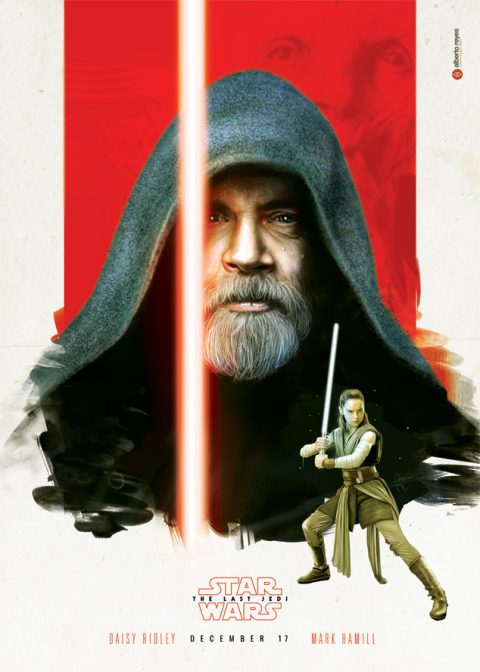 STAR WARS – The Last Jedi – Luke & Rey