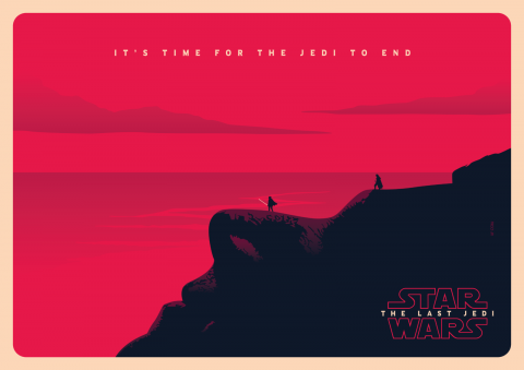 STAR WARS: THE LAST JEDI Poster Art