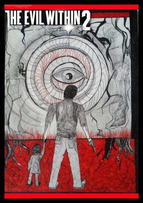 #THEEVILWITHIN2ART