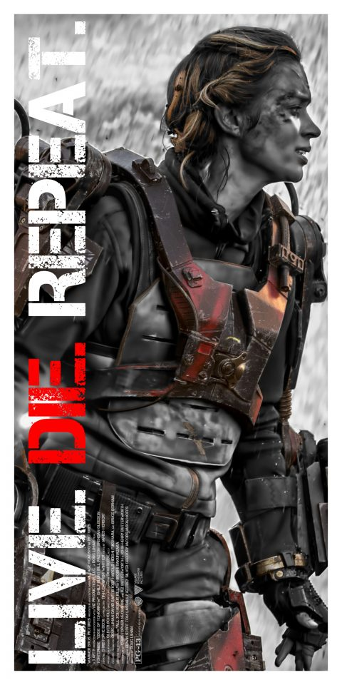 Edge of Tomorrow (Live Die Repeat) Emily Blunt Alternative Character Poster