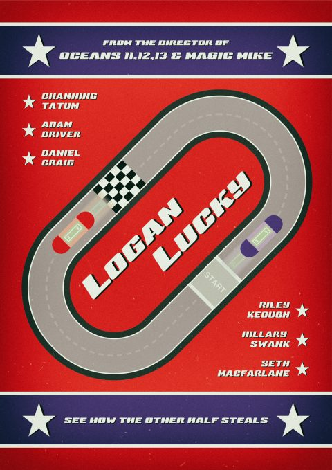 Logan Lucky 2017 Alternative Movie Poster