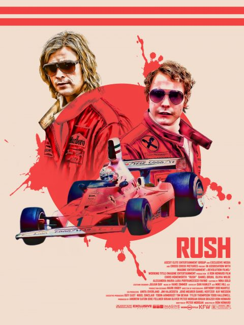 Rush (2013) Alternative Movie Poster