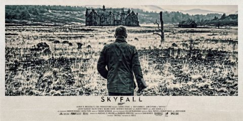 Skyfall Alternative Movie Poster