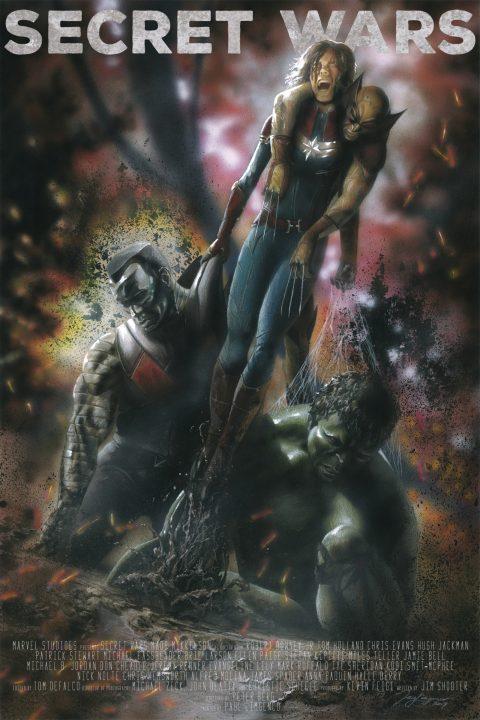 Secret Wars, Poster 2