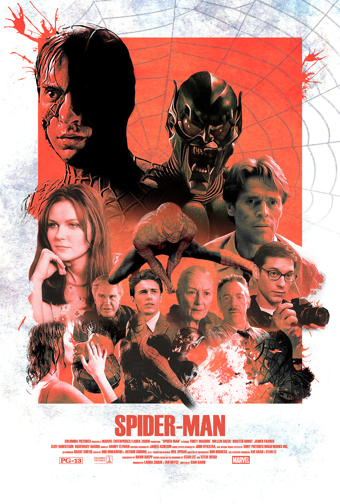 Vintage Spider Man 2002 Alternative Movie Poster Posterspy