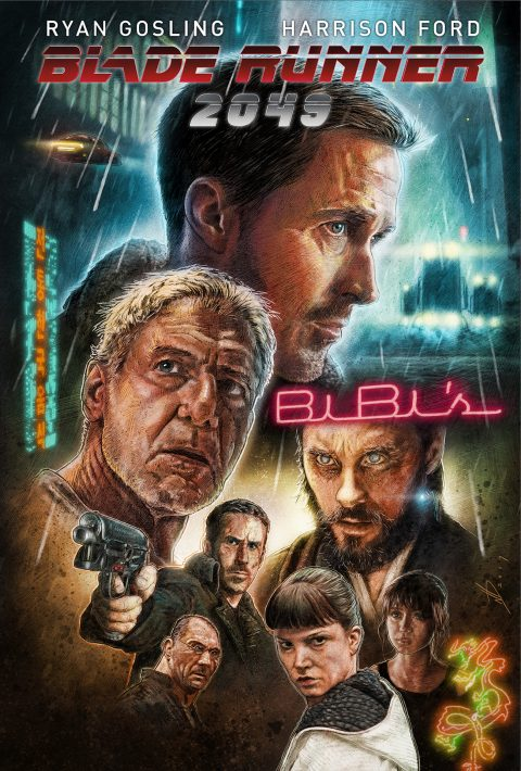 Blade Runner 2049 alternative movie poster 1
