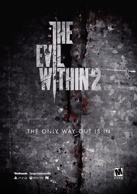 "The Evil Within 2 ""The only way out is in"" Poster A2"