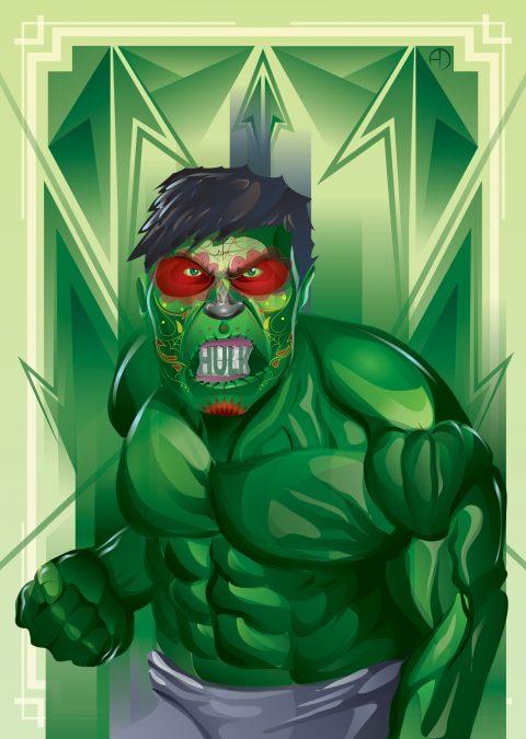 Dia Del Los Muertos Hulk