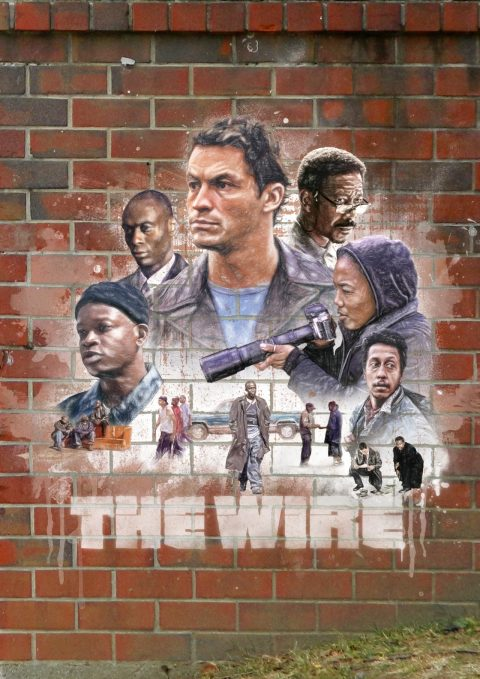 The Wire Season 1 Poster