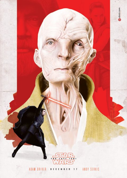 STAR WARS – The Last Jedi – Snoke & Kylo variant