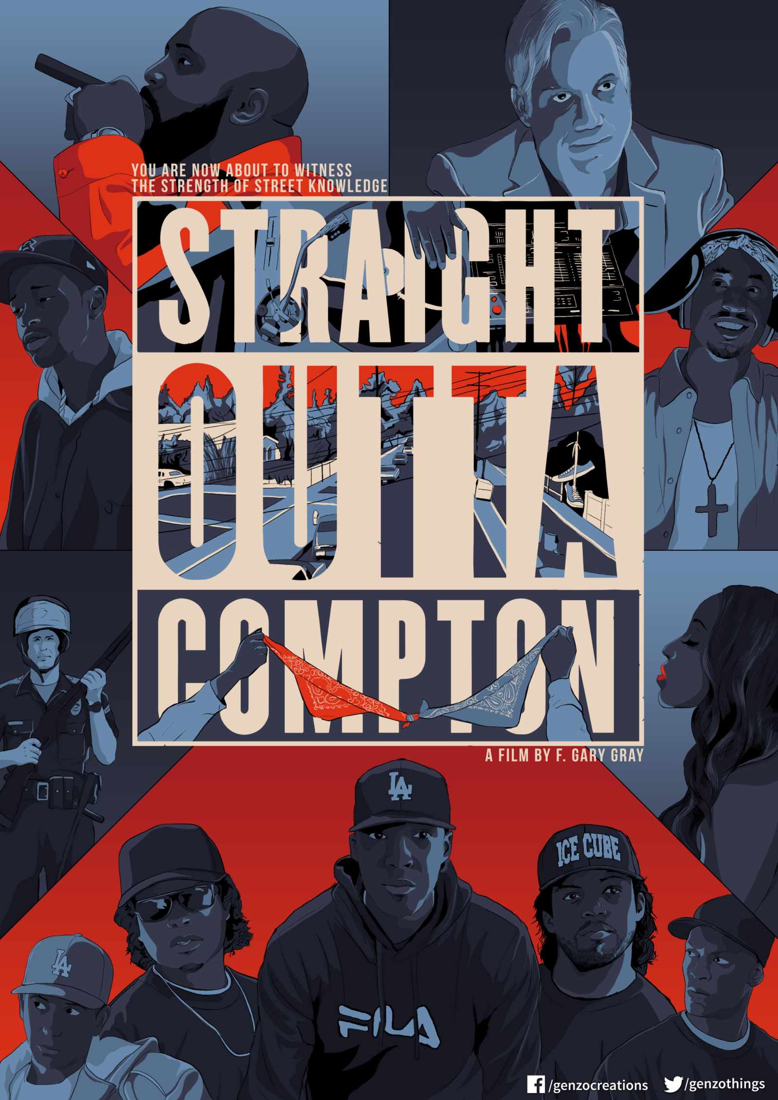 Straight Outta Compton – PosterSpy