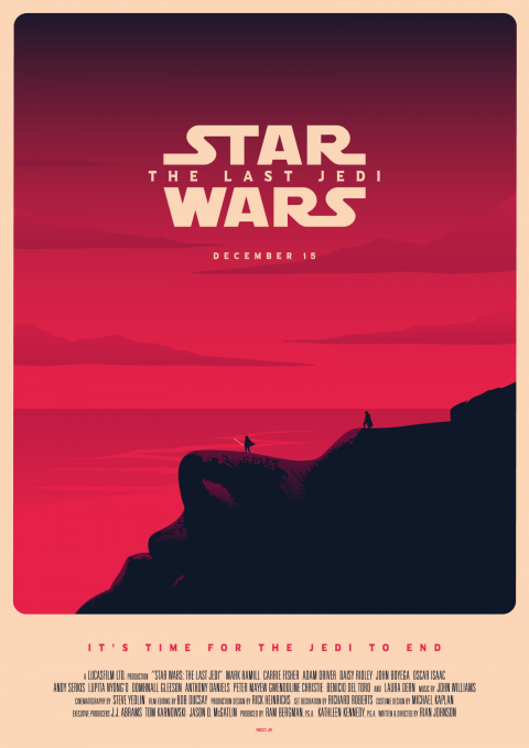 THE LAST JEDI Portrait Poster