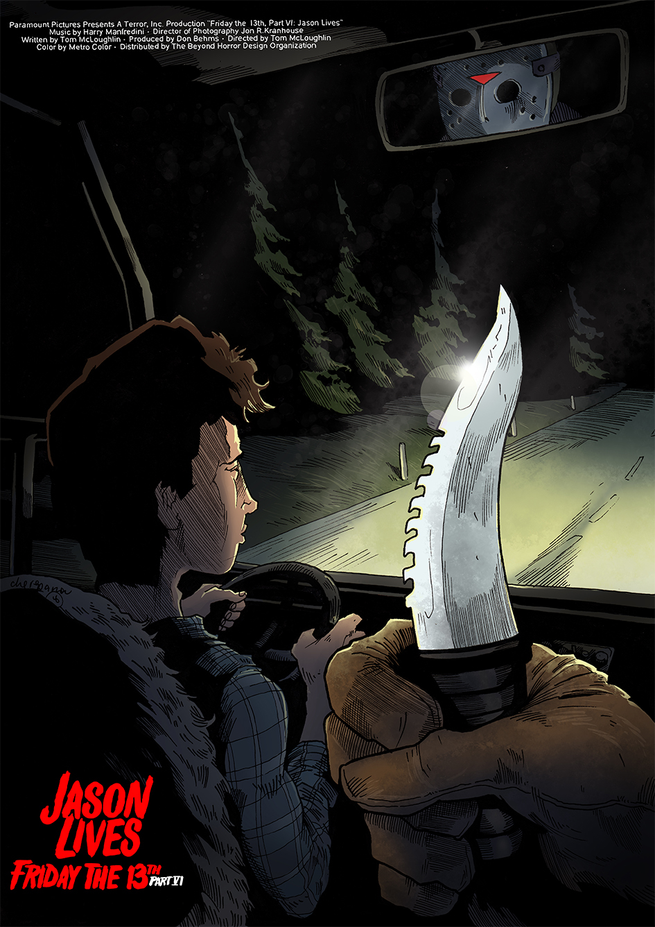 Friday The 13th Part Vi Jason Lives Posterspy
