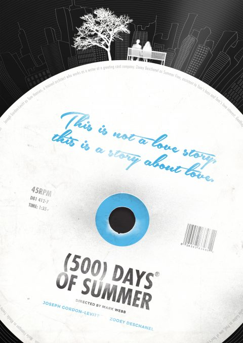 500 Days of Summer Alternative Movie Poster