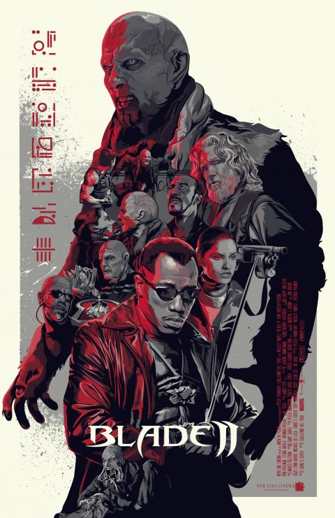 Blade II • Alternative Poster