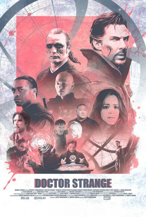 Vintage Doctor Strange Alternative Movie Poster