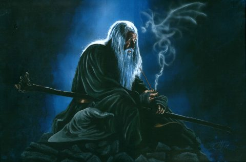 "Gandalf – ""All we have to decide is what to do with the time that is given us"""