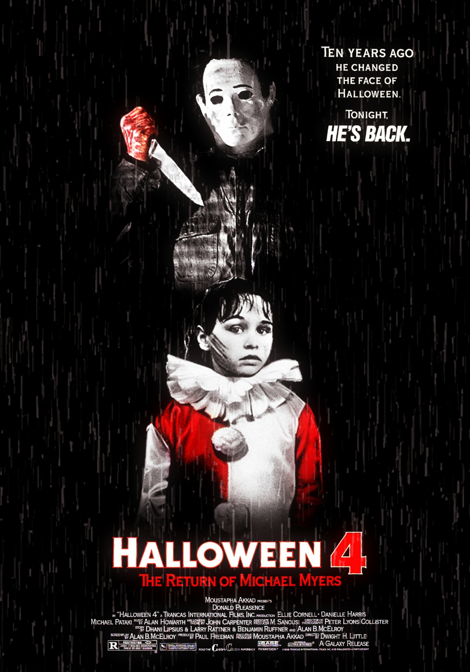 4fbcefbb Halloween 4: The Return Of Michael Myers - PosterSpy