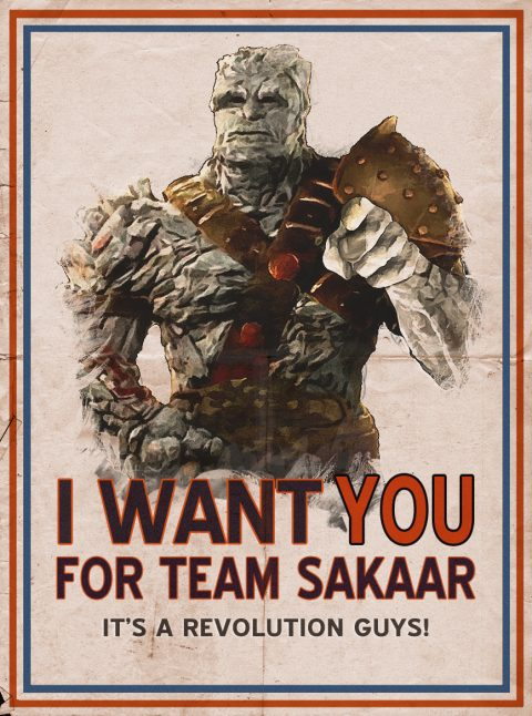 Sakaar Needs You!