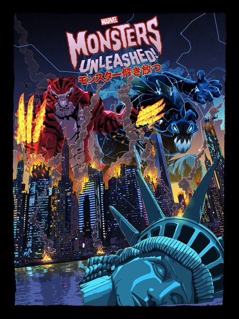 MARVELS MONSTERS UNLEASHED.