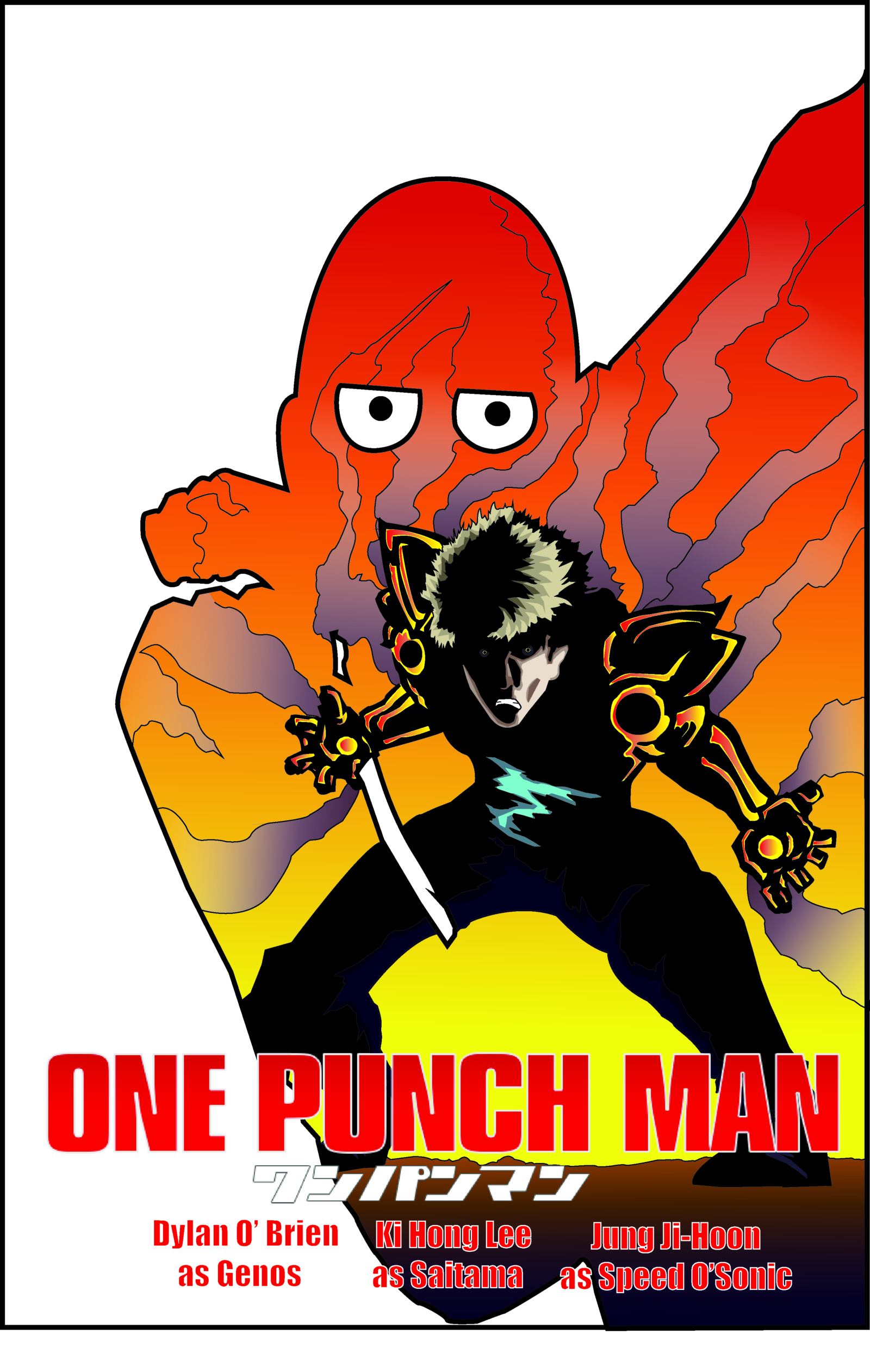 One Punch Man The Movie Posterspy