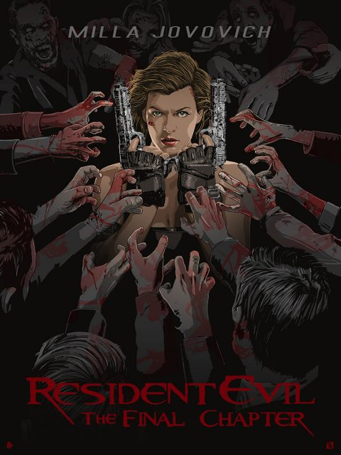 RESIDENT EVIL – THE FINAL CHAPTER.