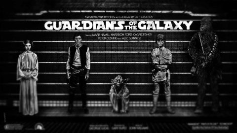 The original Guardians of the Galaxy far, far away….