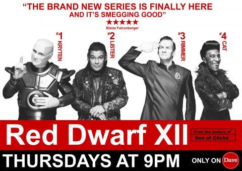 """Red Dwarf XII Poster by Joe James """"Dwarf Spotting"""""""