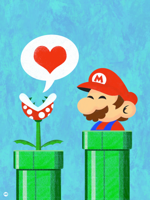Mario In Love (Nintendo series)