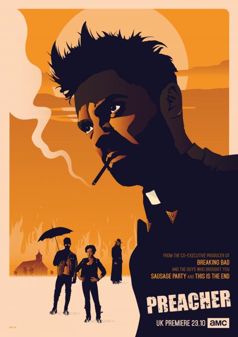 PREACHER Poster Art