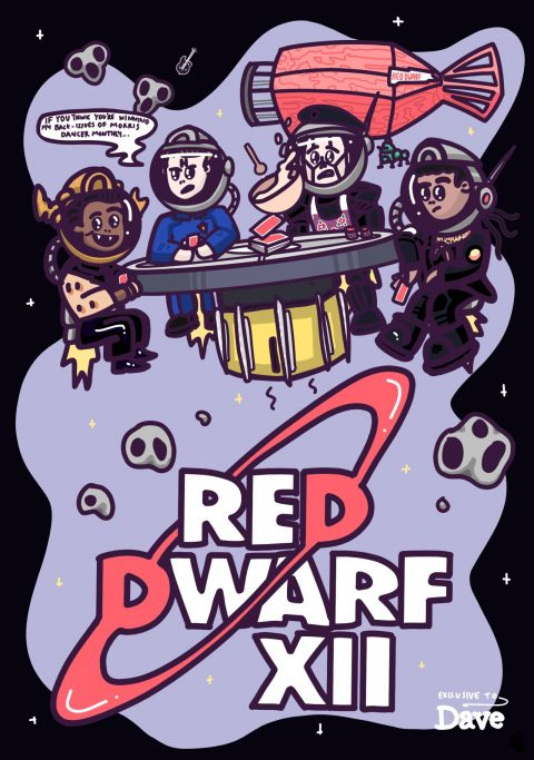 Red Dwarf XII – Space Poker (DAVE edition)