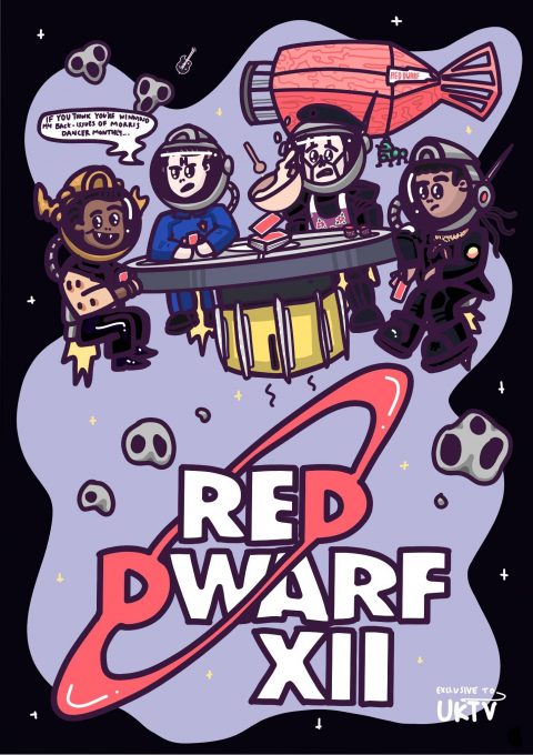 Red Dwarf XII – Space Poker (UKTV edition)