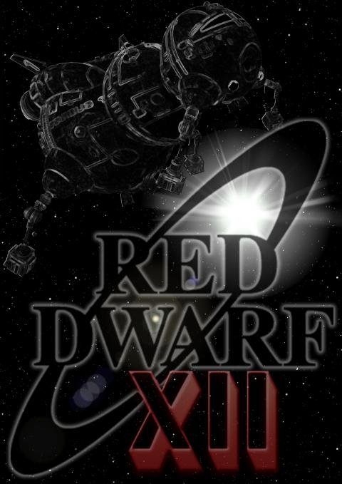 Red Dwarf XII Black and White Colour Splash